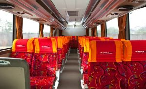 Interior Bus Agra Mas