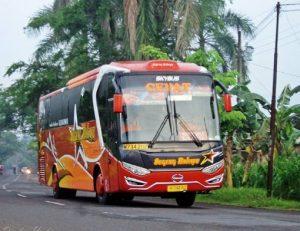 harga tiket Bus Sugeng Rahayu patas