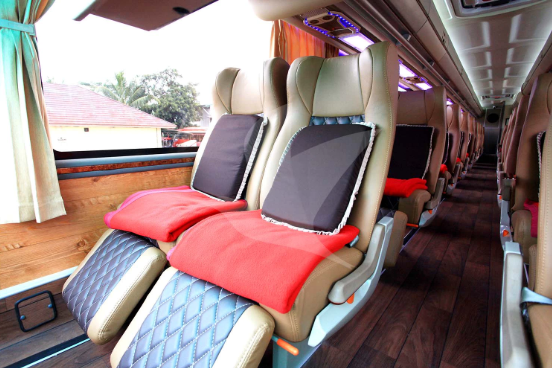 Interior Mewah Bus Agra Mas