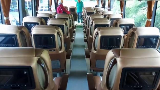 Interior Mewah Bus Efisiensi