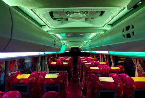 Interior Bus Sempati Star